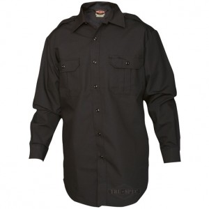 Long Sleeve Tactical Dress Shirt 6535 Polyester Cotton rip-stop